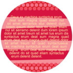 Fest circle text labels