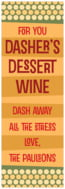 Fest holiday wine labels