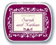 Filigree bar mitzvah mint tins
