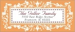 Filigree designer address labels