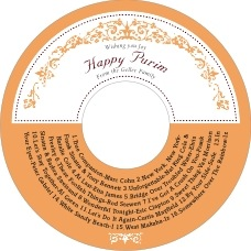 Filigree cd labels