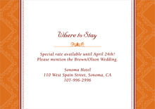 custom enclosure cards - spice - filigree (set of 10)