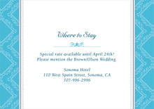 custom enclosure cards - sky - filigree (set of 10)