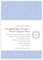 Filigree invitations
