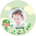 Fairy circle photo labels