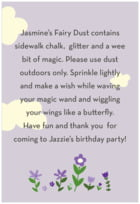 Fairy text labels