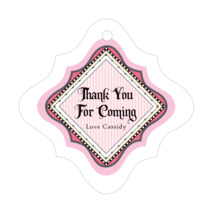 Folio fancy diamond hang tags