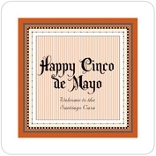 Folio cinco de mayo coasters