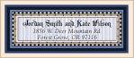 Folio designer address labels