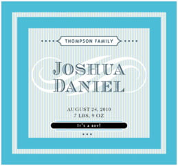 French Market large rectangle labels