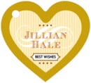 French Market heart hang tags