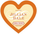 French Market heart labels