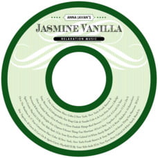 French Market Cd Label In Green