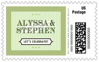 French Market large postage stamps