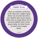 French Market circle text labels
