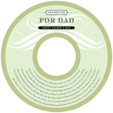 French Market cd labels