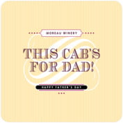 French Market father's day coasters