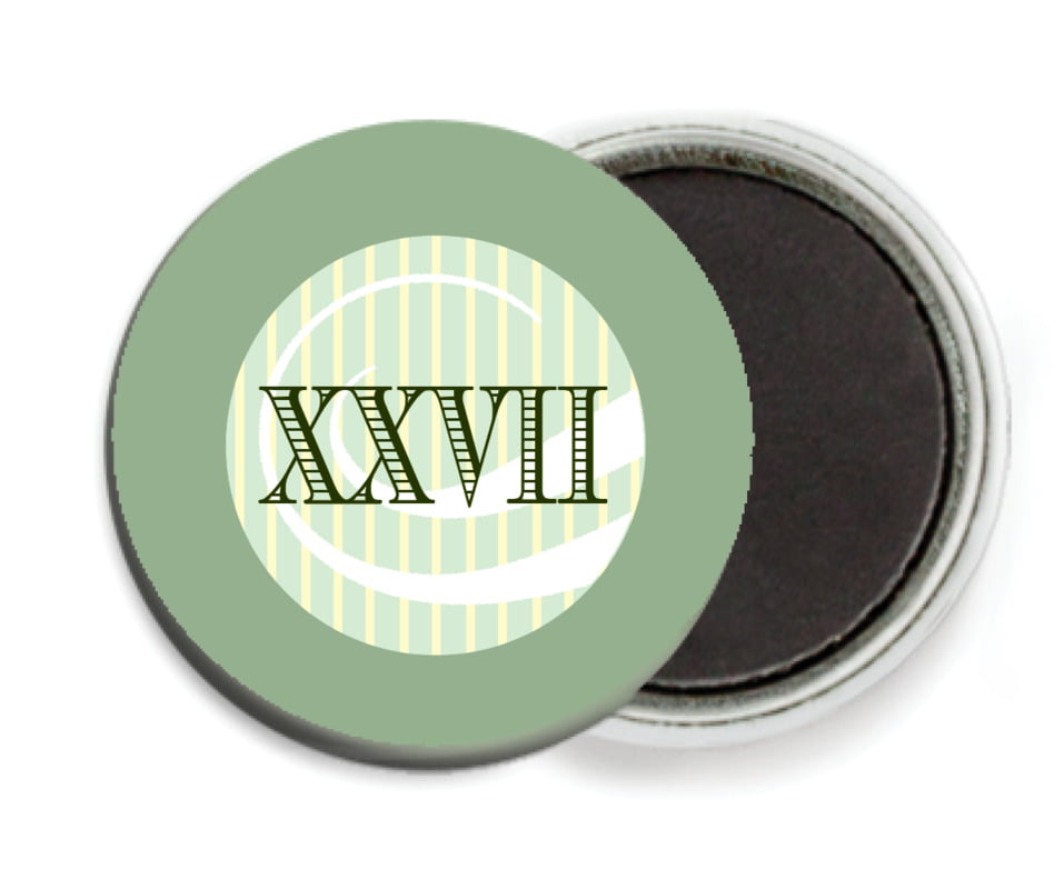 custom button magnets - sage - french market (set of 6)