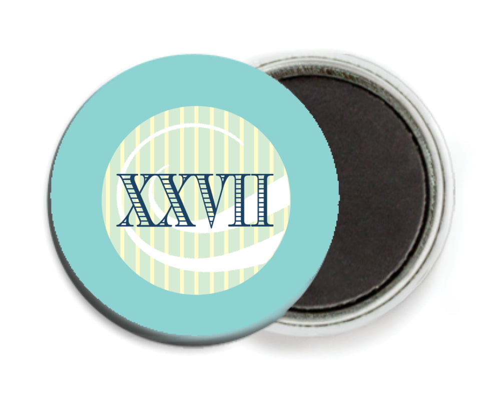 custom button magnets - aruba - french market (set of 6)