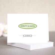 French Market wedding note cards