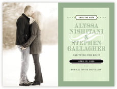 French Market save the date cards