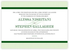 French Market invitations