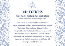 custom enclosure cards - periwinkle - forest romance (set of 10)