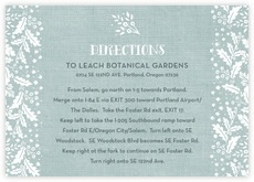 Forest Romance wedding enclosure cards