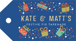 Festive Gifts luggage tags