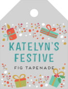 Festive Gifts small luggage tags