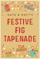 Festive Gifts tall rectangle labels