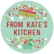 Festive Gifts small round labels