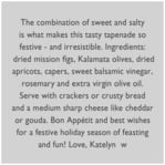 Festive Gifts square text labels