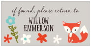 Forest Fox rectangle labels