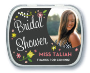 Floral Baby bridal shower mint tins