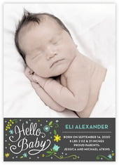 Floral Baby cards