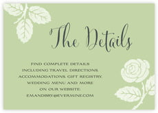 Floral Bliss enclosure cards