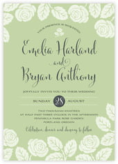 Floral Bliss invitations