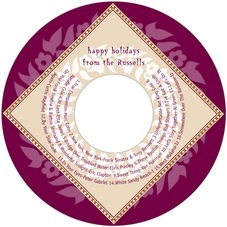 Garland cd labels