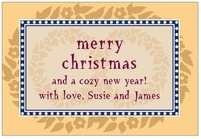 Garland wide rectangle labels