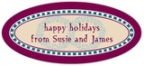 Garland oval labels