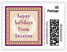 Garland small postage stamps