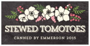 Graceful Floral rectangle labels