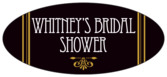 Gatsby oval labels