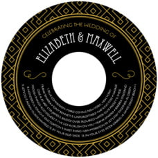 Gatsby custom CD/DVD labels