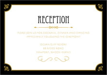 custom enclosure cards - tuxedo - gatsby (set of 10)