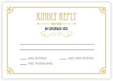 Gatsby response cards