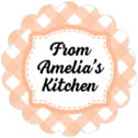 Gingham scallop labels