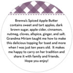 Gingham circle text labels