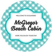 Gingham Round Coaster In Turquoise